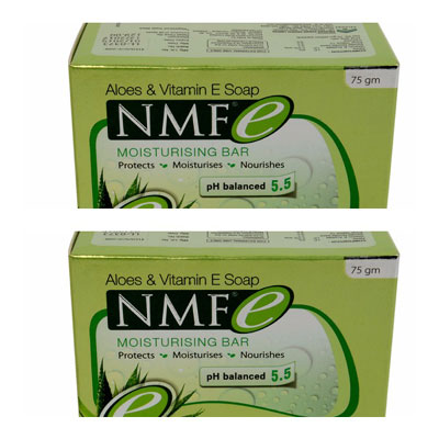 NMFe Moisturising Bar 75gm pack of 2