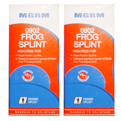 Mgrm 0902 Frog Splint pack of 2
