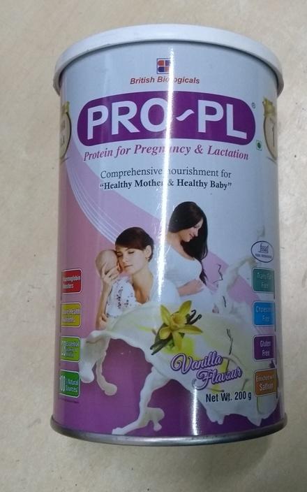 PRO PL Vanilla flavour 200g