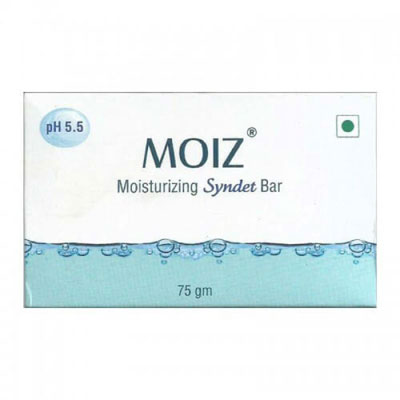 Moiz Moisturizing Syndet Bar 75gm