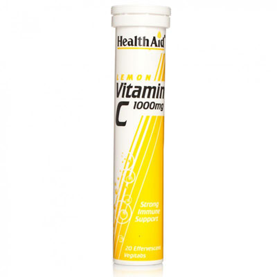 Health Aid Vitamin C Lemon 20s Tablets