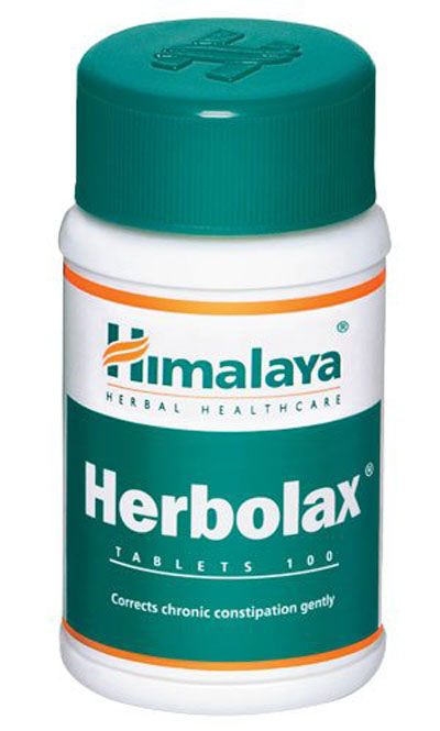 Himalaya Herbolax (100 tablets) - Pack of 5