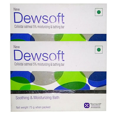 Dewsoft Soap 75 gm pack of 2