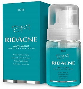 Ridacne Foaming Face Wash 50mlpack of 2