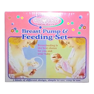 Camera Breast Pump and Feeding Set