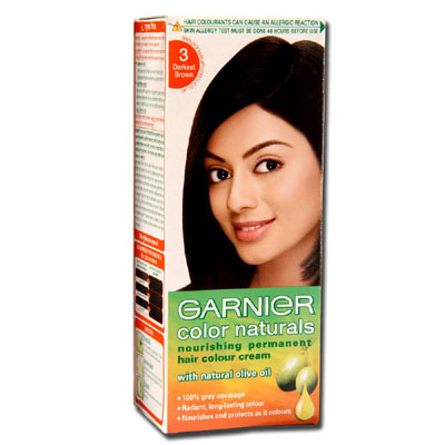 Garnier Color Naturals Hair Color (Darkest Brown)