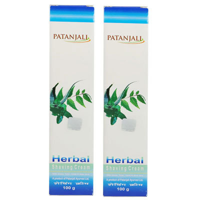 Herbal Shaving Cream 100 gm Pack Of 2