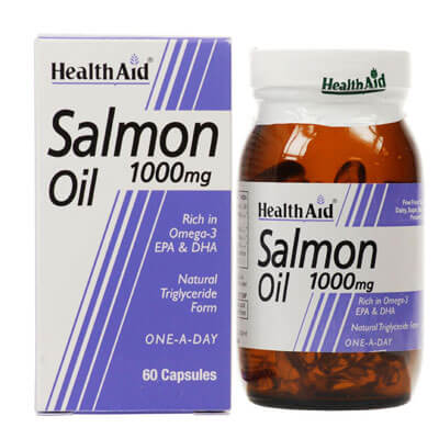 Health Aid Salmon Oil 1000mg