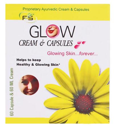 F2S Glow Cream and Capsules 60 Capsule 60 ml Cream
