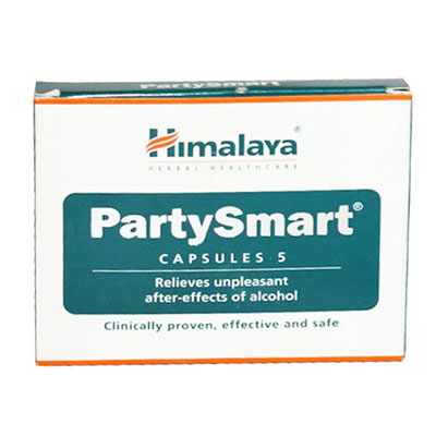 Himalya PartySmart 25 Capsules pack of 2