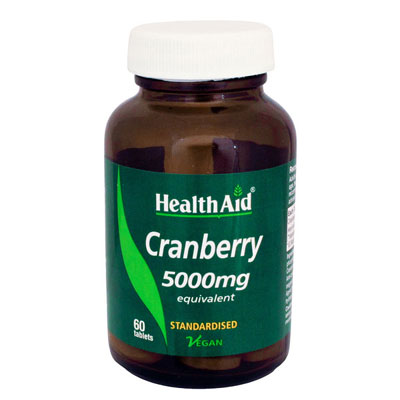 HealthAid Cranberry 5000mg 60Tablets