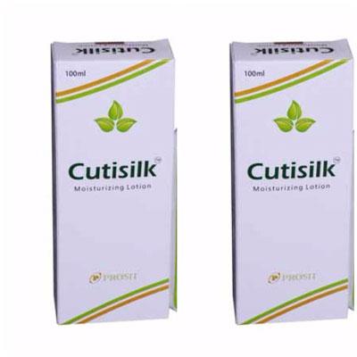 Cutisilk Moisturizing lotion 100ml pack of 2