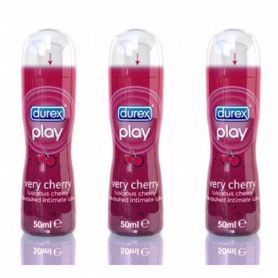 Durex play very cherry 50ml pack of 3