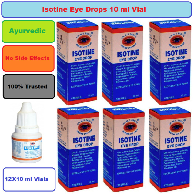 ISOTINE EYE DROP pack of 6