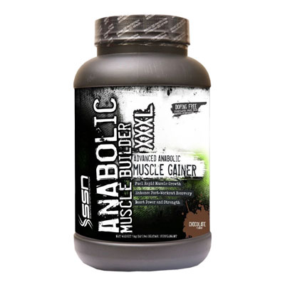 SSN Anabolic Muscle Builder XXXL  Chocolate  2 L