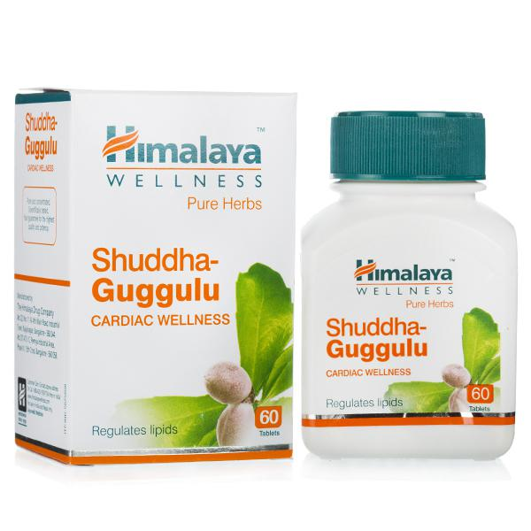 Shuddha Guggulu 60 tablets pack of 2