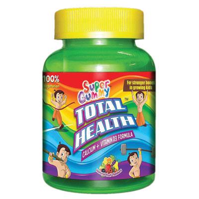 SuperGummy Total Health Calcium Plus VitaminD3 Formula 30s