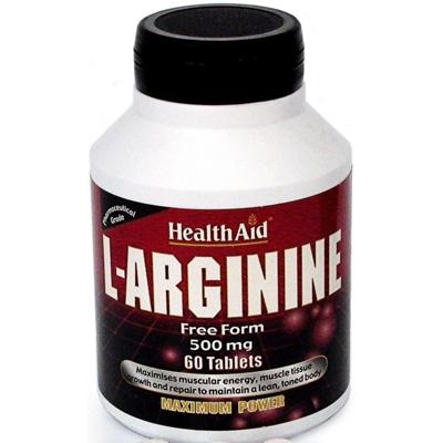 L-Arginine 500mg 60's Tablets