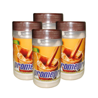 Promepro Chocolate Protein 200gms Pack of 4