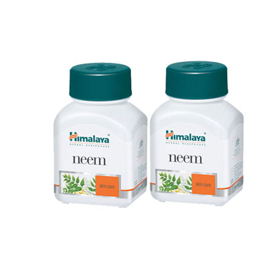 Himalaya Neem Caps 60s pack of 2