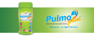 Pulmo plus Strawberry flavour 200g PACK OF 2