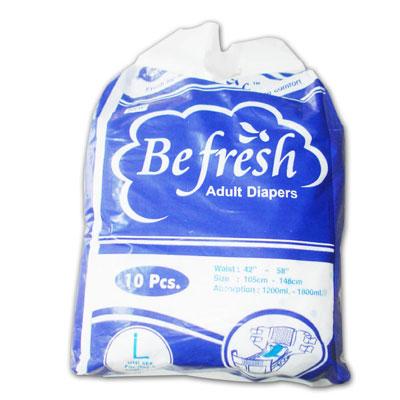 Befresh Adult Diapers Large
