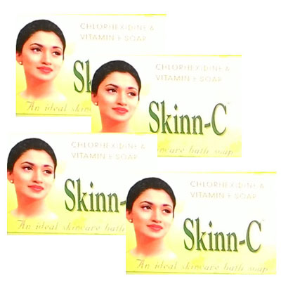Skinn C 75gm Pack Of 4