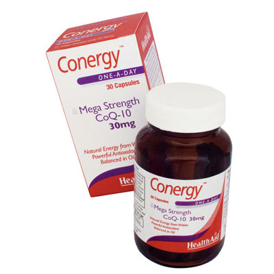 Health Aid Conergy One A Day 30mg Caps
