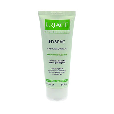 Uriage hyseac exfoliating mask 100ml