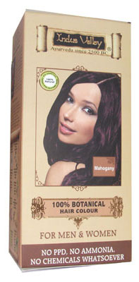 Indus Valley botanical hair color