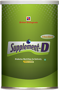 Supplement D Vanilla flavour