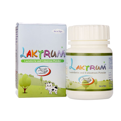 Laktrum Lactoferin and Colstrum Powder 50gm