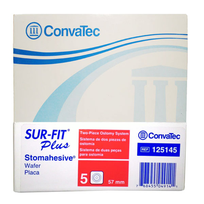 Convatec Stomahesive Flange 57mm Pack Of 5 {Code:125145}
