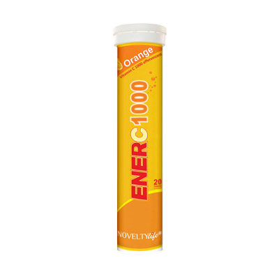 Enerc 1000Mg  Orange  20 Tablets