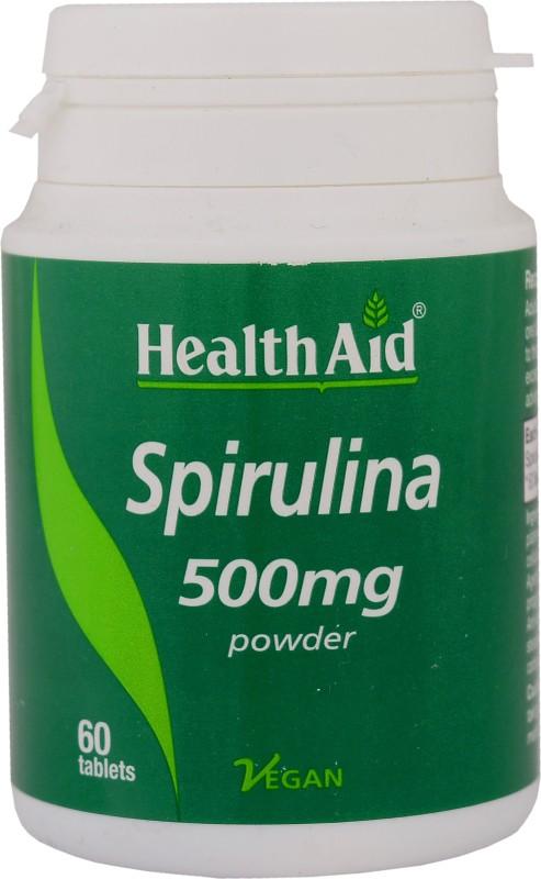 Spirulina 500mg 60 tablets