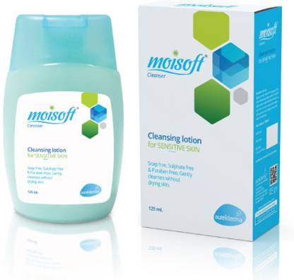 Moisoft Cleansing Lotion 125ml Cleanser Pack of 2