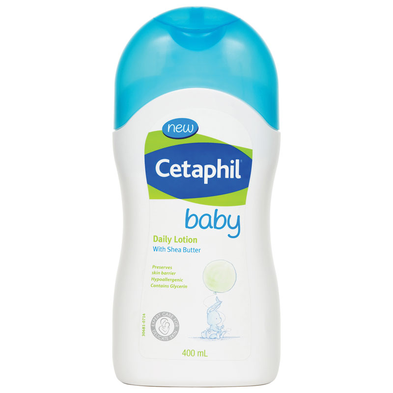Cetaphil baby Daily Lotion with shea butter 400ml