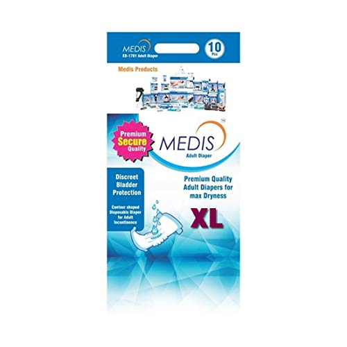 MEDIS ADULT DIAPERS  - XL