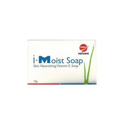 I Moist Soap With Vitamin E bar  75g
