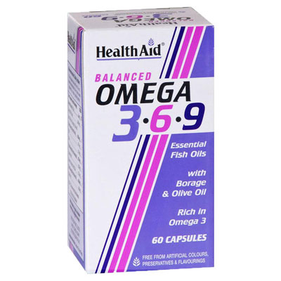 Health Aid Omega 3 6 9 (60Caps)