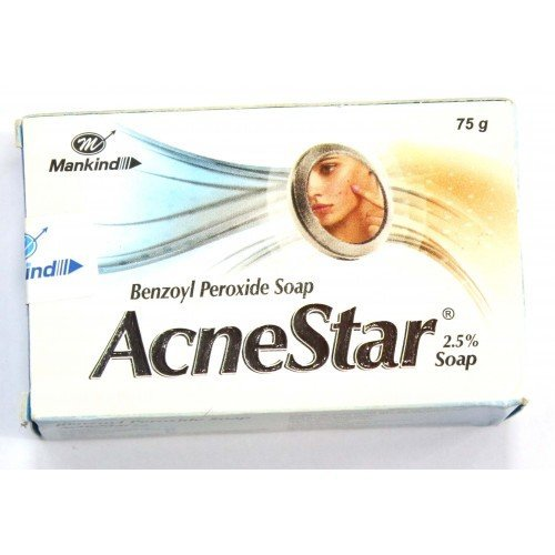 AcneStar soap 75g pack of 6