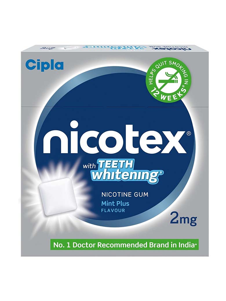 Nicotex 2mg Mint Flavour Pack of 10