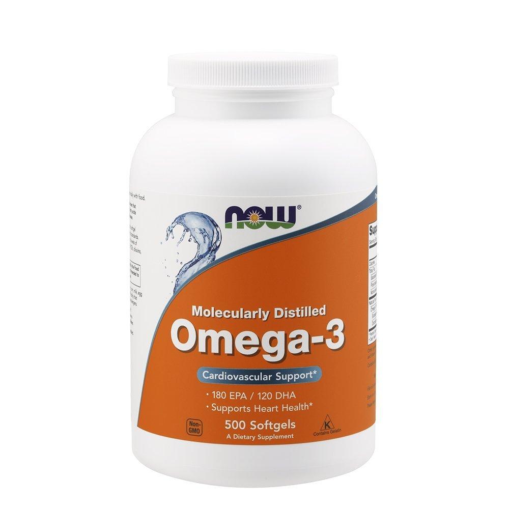 Now Foods Omega3 Softgels  500 Softgels