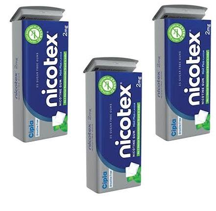 Nicotex Tin Mint Plus Flavour Pack Of 3