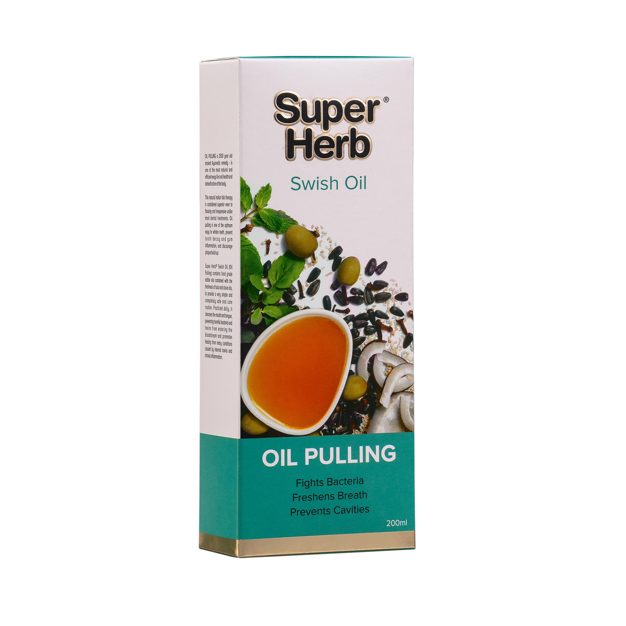 Super Herb Swish oil - 200 ml