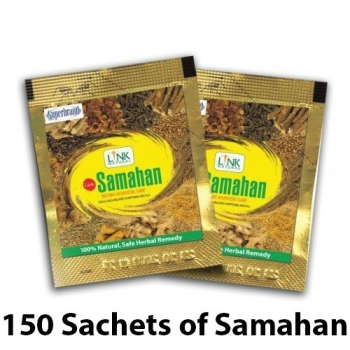 Samahan Herbal Extracts Tea for Cold Cough Immunity 150pcs  4g sachets HACCP Certified GMP Certified