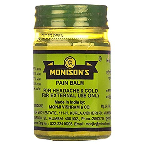 Monison's Pain Balm 100gm Pack of 2