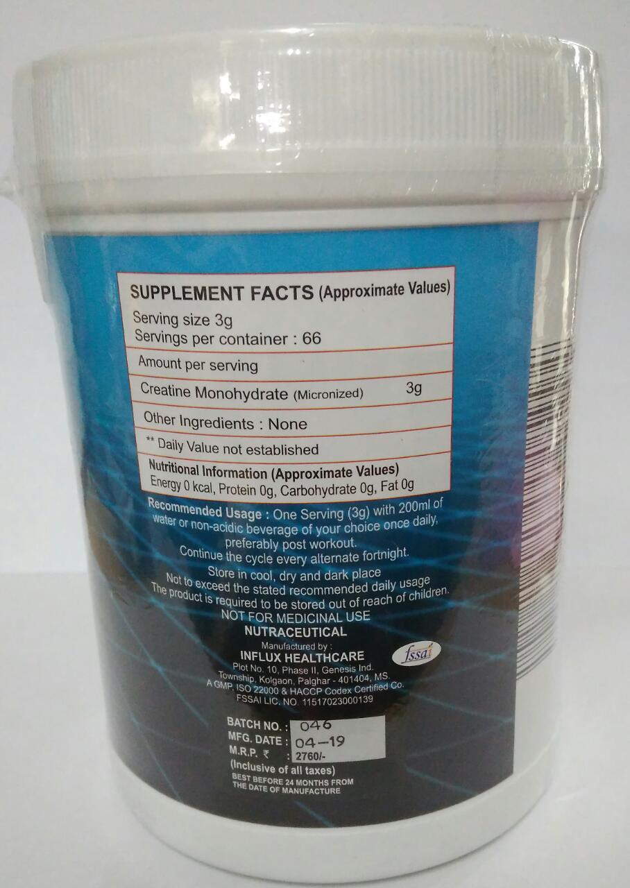 CREATINE Monohydrate 200g powder