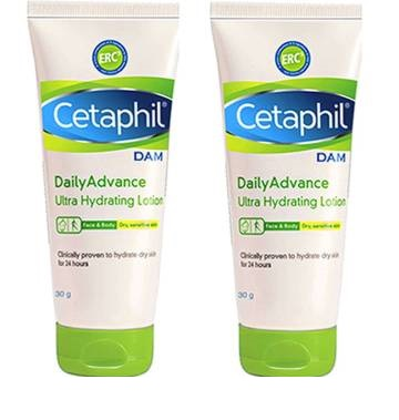 Cetaphil Daily Advance Ultra Hydrating Lotion 30G Pack Of 2