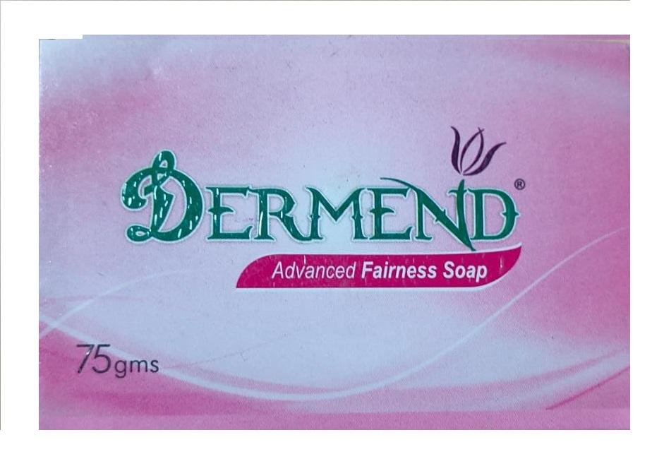 DERMEND ADVANCED FAIRNESS SOAP 75GMS PACK OF 3